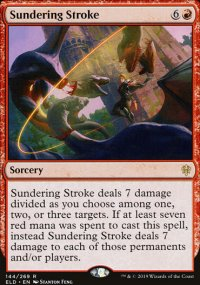Sundering Stroke 1 - Throne of Eldraine