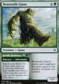 Beanstalk Giant 1 - Throne of Eldraine