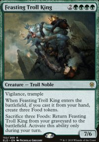 Feasting Troll King 1 - Throne of Eldraine