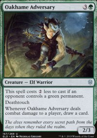 Oakhame Adversary - Throne of Eldraine