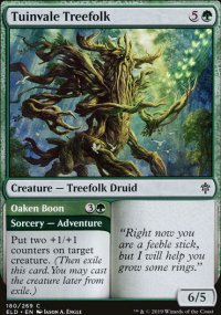 Tuinvale Treefolk 1 - Throne of Eldraine