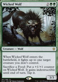Wicked Wolf 1 - Throne of Eldraine