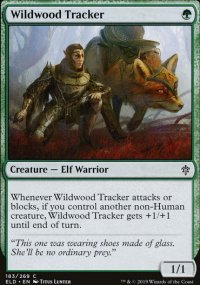 Wildwood Tracker - Throne of Eldraine