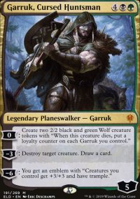 Garruk, Cursed Huntsman 1 - Throne of Eldraine