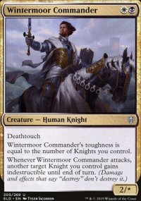 Wintermoor Commander - Throne of Eldraine