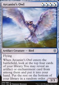 Arcanist's Owl - Throne of Eldraine