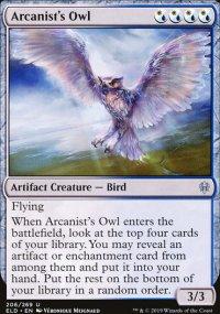 Arcanist's Owl -