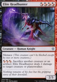 Elite Headhunter - Throne of Eldraine