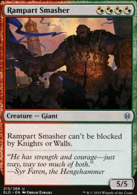 Rampart Smasher - Throne of Eldraine