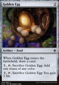 Golden Egg - Throne of Eldraine