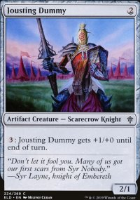 Jousting Dummy - Throne of Eldraine