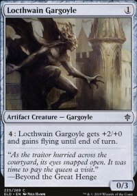 Locthwain Gargoyle - Throne of Eldraine
