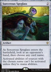 Sorcerous Spyglass 1 - Throne of Eldraine
