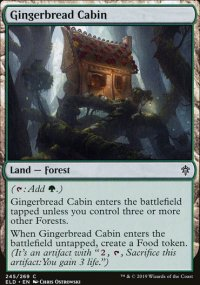 Gingerbread Cabin - Throne of Eldraine