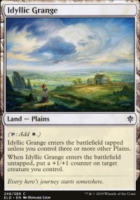 Idyllic Grange - Throne of Eldraine