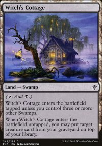 Witch's Cottage - Throne of Eldraine