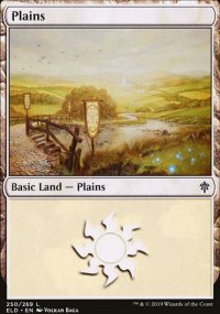 Plains 1 - Throne of Eldraine