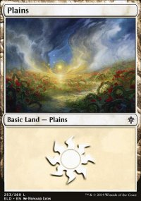Plains 4 - Throne of Eldraine