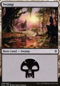 Swamp 1 - Throne of Eldraine