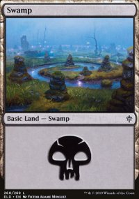 Swamp 3 - Throne of Eldraine
