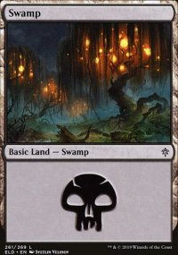 Swamp 4 - Throne of Eldraine