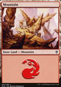 Mountain 1 - Throne of Eldraine