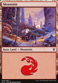 Mountain 2 - Throne of Eldraine