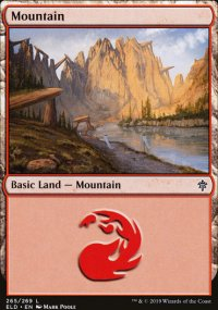 Mountain 4 - Throne of Eldraine