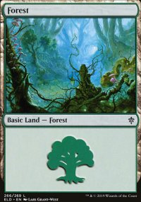 Forest 1 - Throne of Eldraine