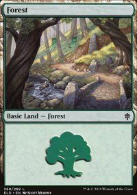 Forest 3 - Throne of Eldraine