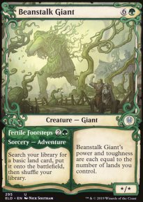 Beanstalk Giant 2 - Throne of Eldraine