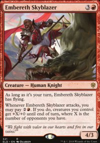 Embereth Skyblazer - Throne of Eldraine