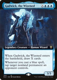 Gadwick, the Wizened 2 - Throne of Eldraine