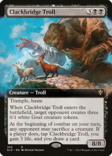 Clackbridge Troll 2 - Throne of Eldraine