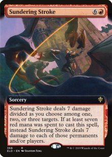 Sundering Stroke 2 - Throne of Eldraine