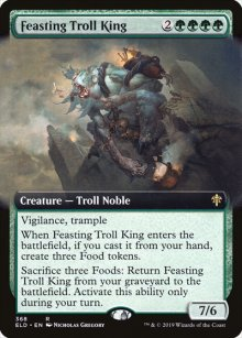 Feasting Troll King 2 - Throne of Eldraine