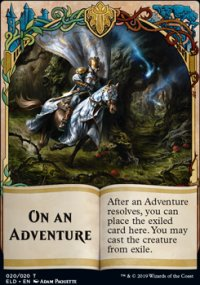 On an Adventure - Throne of Eldraine