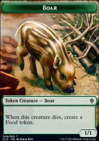 Boar - Throne of Eldraine