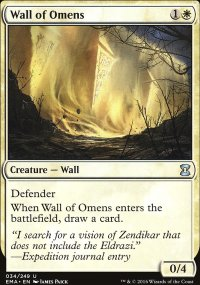 Wall of Omens - Eternal Masters