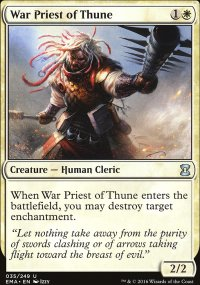 War Priest of Thune - Eternal Masters
