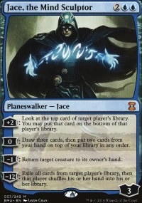 Jace, the Mind Sculptor - Eternal Masters