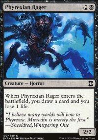 Phyrexian Rager - Eternal Masters