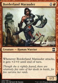 Borderland Marauder - Eternal Masters
