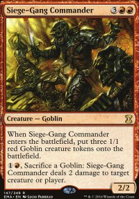 Siege-Gang Commander - Eternal Masters