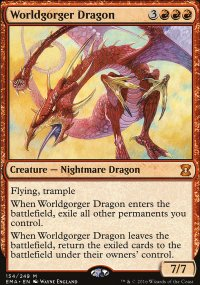 Worldgorger Dragon - Eternal Masters