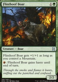 Flinthoof Boar - Eternal Masters