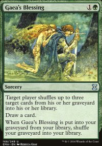 Gaea's Blessing - Eternal Masters