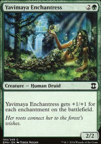 Yavimaya Enchantress - Eternal Masters