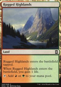 Rugged Highlands - Eternal Masters