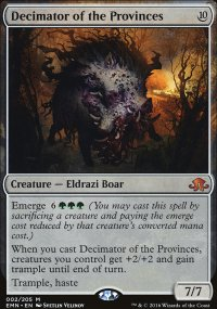 Decimator of the Provinces - Eldritch Moon
